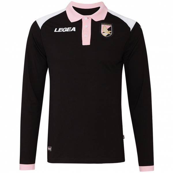 US Palermo Legea Langarm Polo-Shirt PLM241-1011