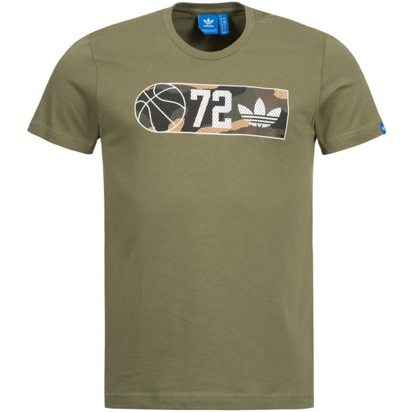 adidas Originals Basketball Courtline Herren T-Shirt BP6541