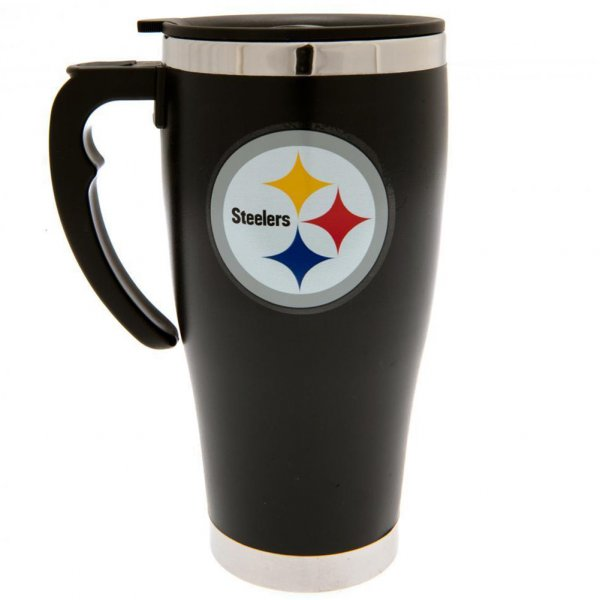 Pittsburgh Steelers NFL Foil Print Travel Mug Thermobecher MGNFLTRAVPS