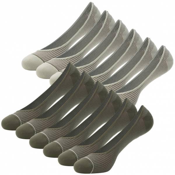 PUMA Damen Füßlinge Sneakersocken 12 Paar 100000619-002