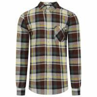Timberland Wool Cotton Herren Langarm Hemd A1LRE-C36