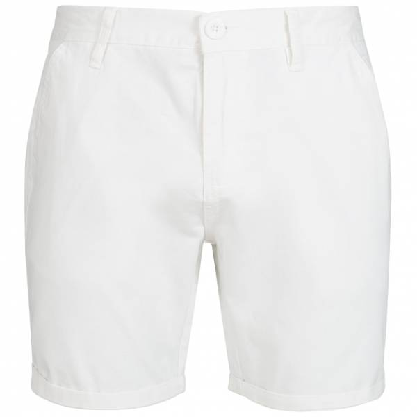 BRAVE SOUL Smith Herren Chino Shorts MSRT-SMITHPKB White
