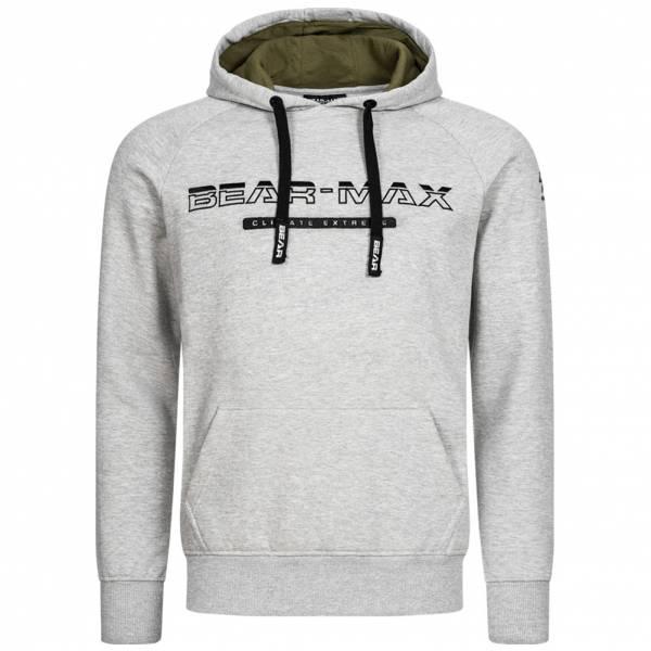 BEAR MAX Kamchatka Hoodie Herren Kapuzen Sweatshirt BTG00012-GRY