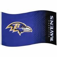 Baltimore Ravens NFL Fahne Fade Flag FLG53NFLFADEBRV