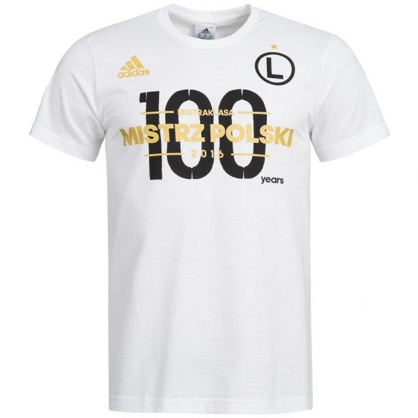 Legia Warschau adidas Herren Meister T-Shirt BQ4142