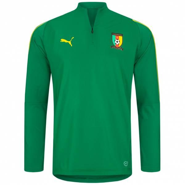 Kamerun PUMA 1/4 Zip Trainings Sweatshirt 753134-01