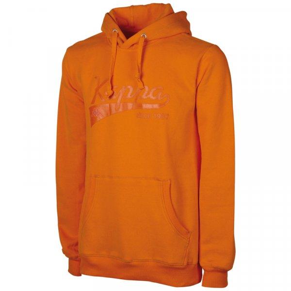 Kappa Hooded Sweatshirt Narkotio Herren Hoodie 302814-264 Orangeade