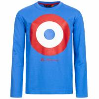 BEN SHERMAN Kinder Longsleeve Langarm Shirt BSH0003S-245 Strong Blue