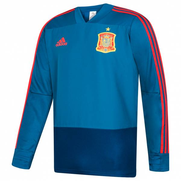 Spanien adidas Herren Trainings Top Oberteil CE8820