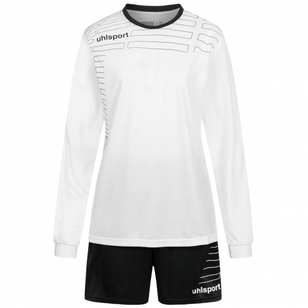 Uhlsport Match Damen Fußball Set Langarm Trikot mit Shorts 100316908
