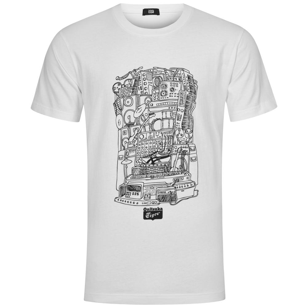 2b465ff9387e04 Preview  ASICS Onitsuka Tiger Graphic Mens T-Shirt OKT469-001B ...