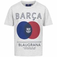 FC Barcelona Blaugrana Jungen T-Shirt FCB-3-379