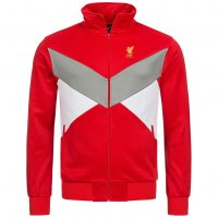 Liverpool FC Majestic Retro Cut and Sew Full Zip Jacke