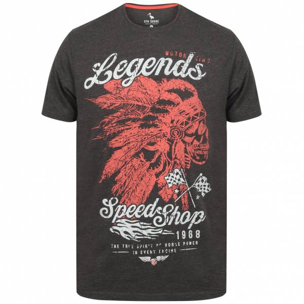 South Shore Legends Herren T-Shirt 1C12701 Charcoal Marl