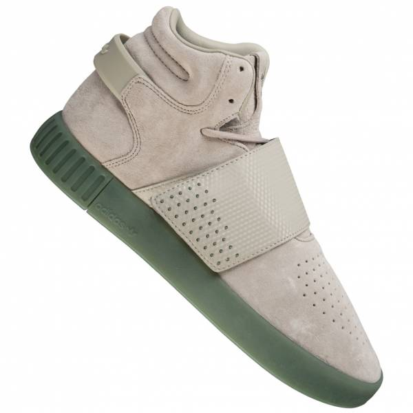 the best attitude 1ba8b 81530 sneaker adidas Originals Tubular Invader Strap in pelle BY3635 ...