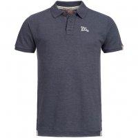 Tokyo Laundry Penn State Herren Polo-Shirt 1X8907R Mood Indigo Marl