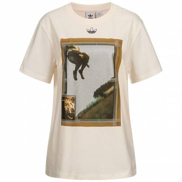adidas Originals Oversize Graphic Damen T-Shirt FM4340