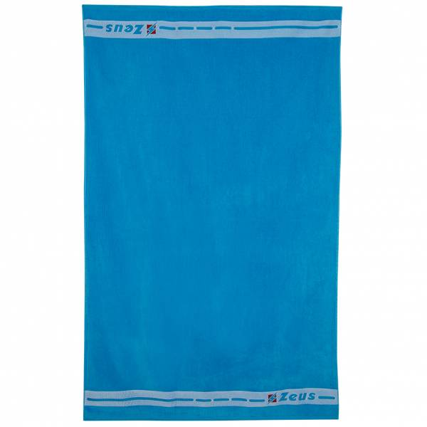 Zeus Badehandtuch Baumwolle 155 x 100 cm blau