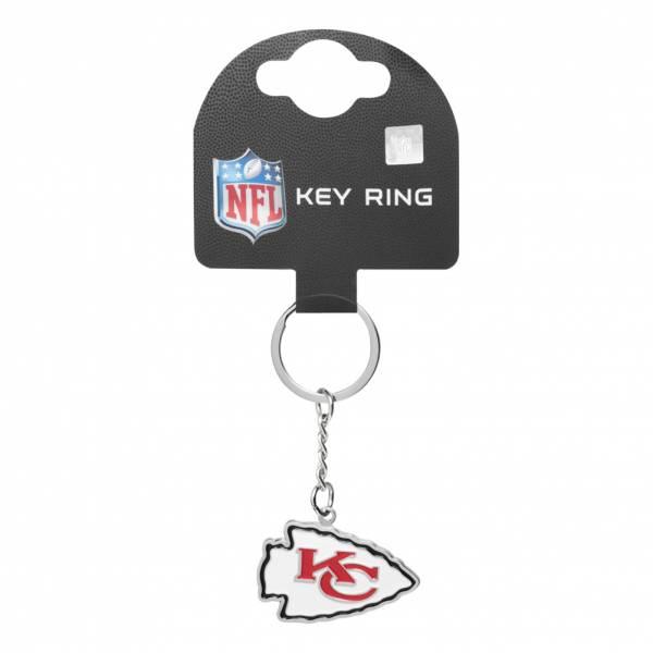 Kansas City Chiefs NFL Wappen Schlüsselanhänger KYRNFCRSKCKB