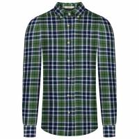Hackett London HKT Bone Plaid Herren Hemd HM307927-6A6