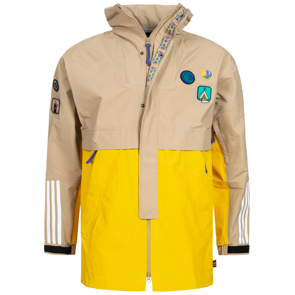 adidas x Pharrell Williams HU Hiking 3 Layer Herren Jacke CE9491