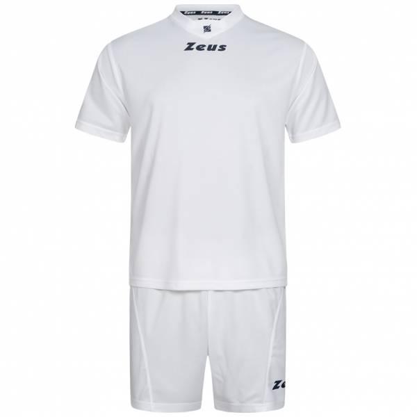 Zeus Kit Promo Conjunto de fútbol 2 piezas blanco