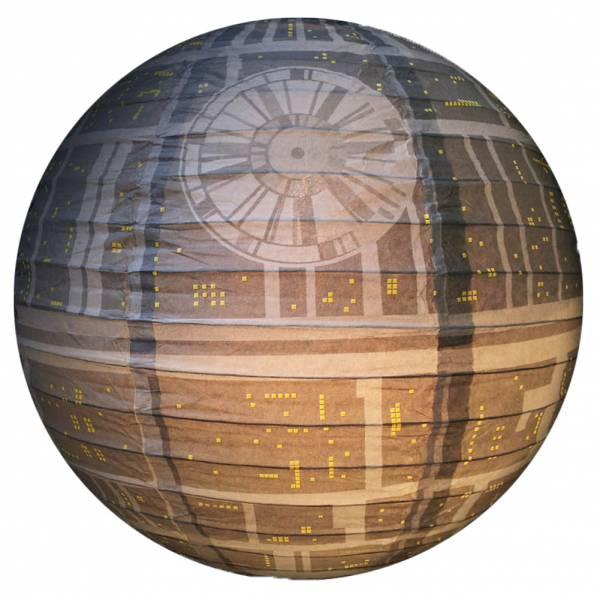 Star Wars Todesstern Spherical Paper Lampenschirm