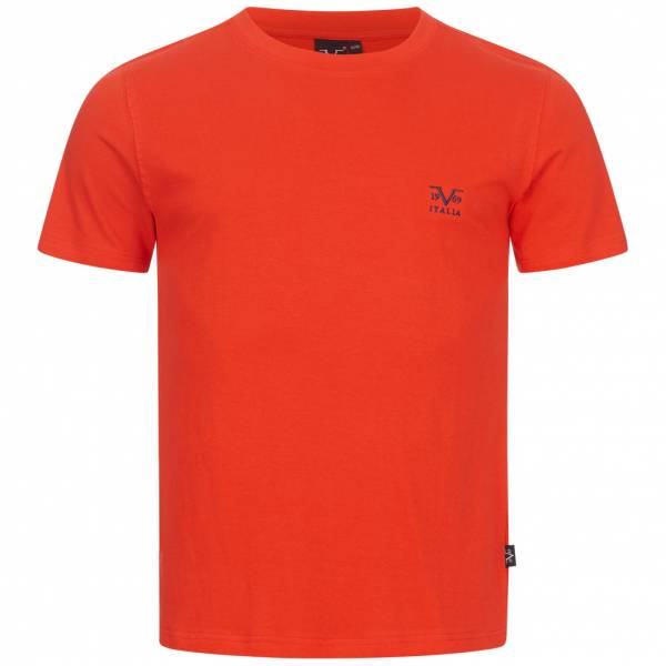 19V69 Versace 1969 Basic Herren T-Shirt VI20SS0007A rot