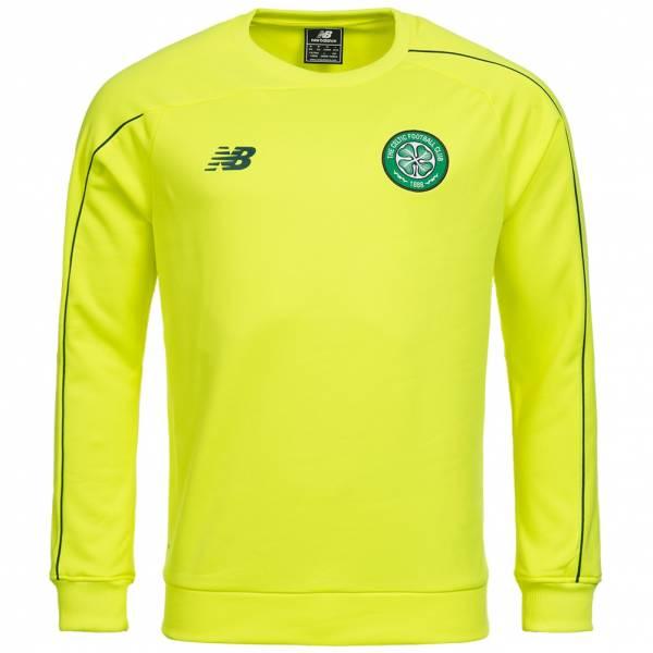 Celtic Glasgow New Balance Herren Trainings Sweatshirt WSTM751-FUY