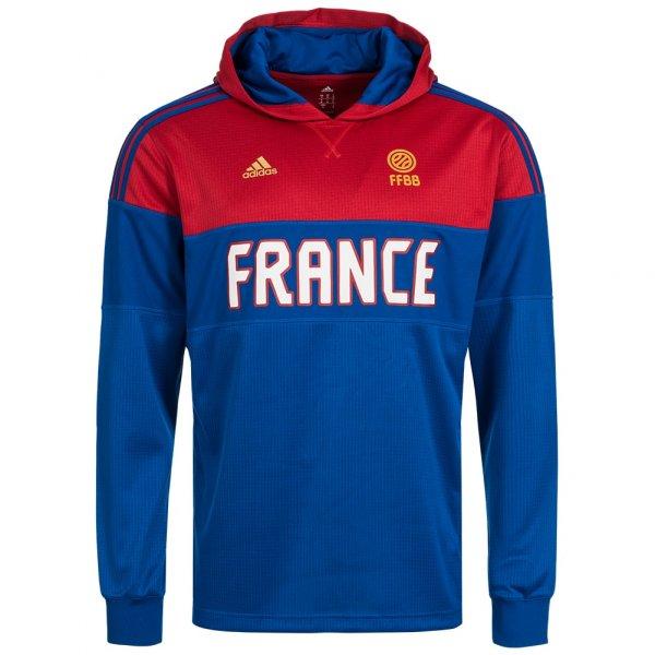 Frankreich adidas Langarm Kapuzen Sweatshirt AI6320