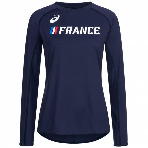 France ASICS Athlétisme Femmes Haut à manches longues A17H26-52FR