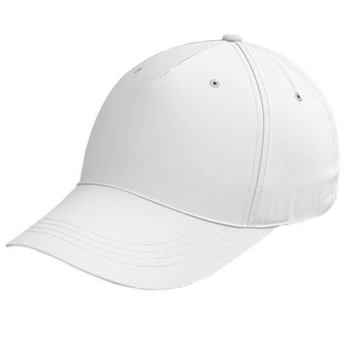 Zeus Baseball Kappe Weiß