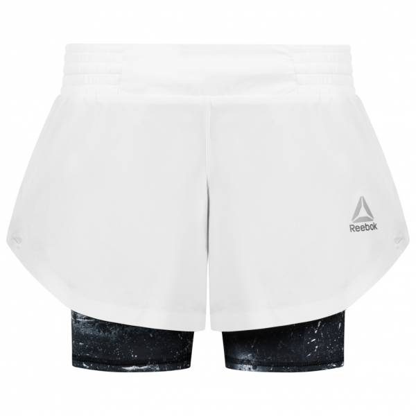 Reebok Combat 2-In-1 Damen Kampfsport Shorts AX9806