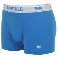 Lonsdale Boxershorts 2 St. royalblau ohne Eingriff