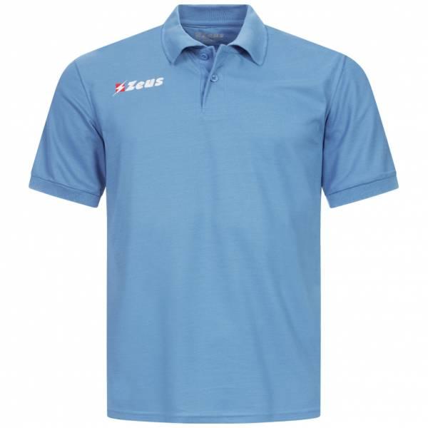 Zeus Basic Herren Poloshirt blau