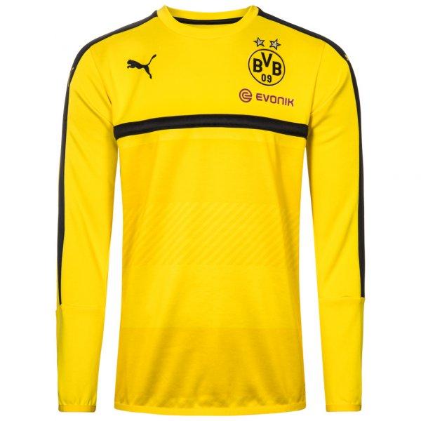 BVB Borussia Dortmund PUMA Kinder Trainings Sweatshirt 749851-01