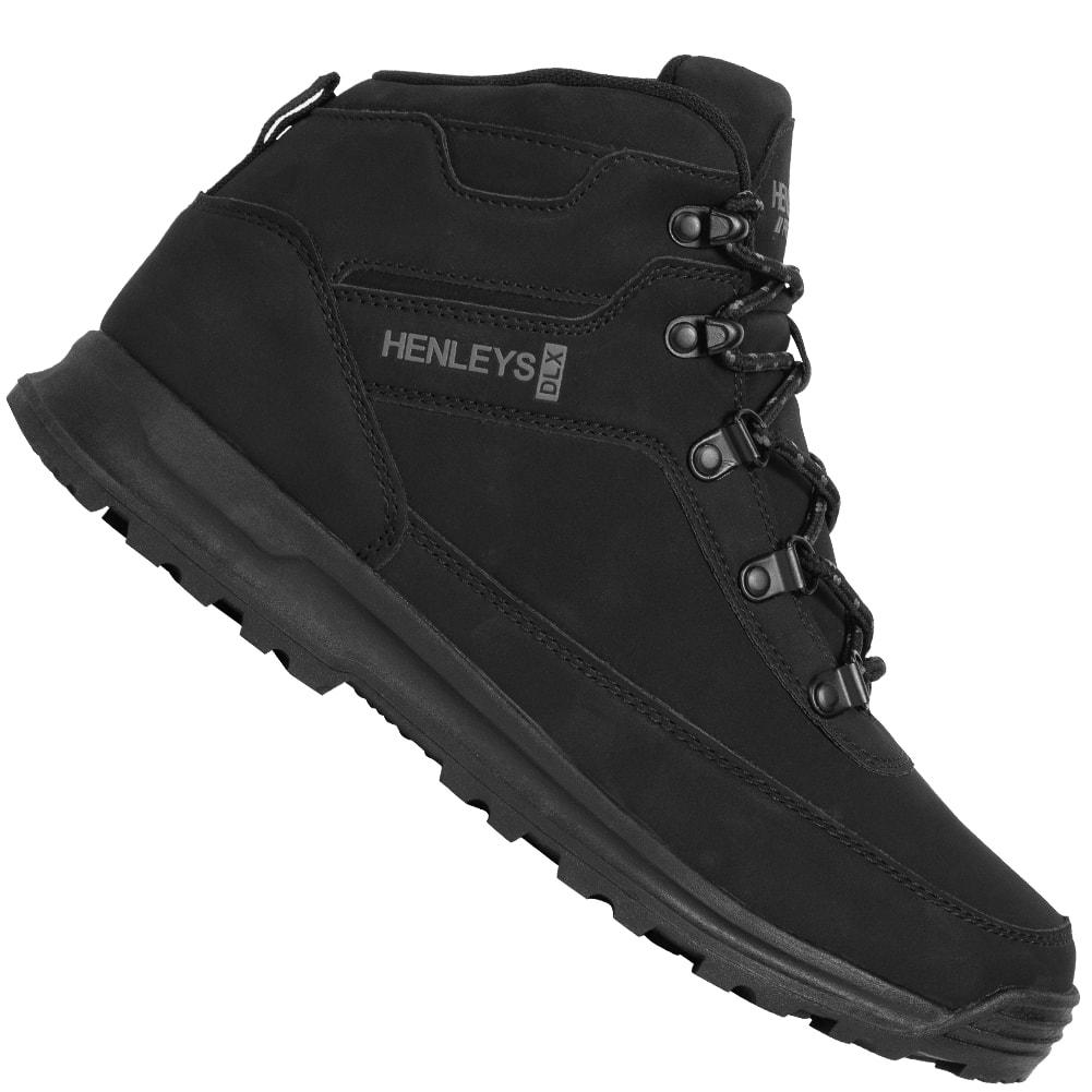 HENLEYS Travis Boot Herren Stiefel Outdoor Schuhe HTG00418 black