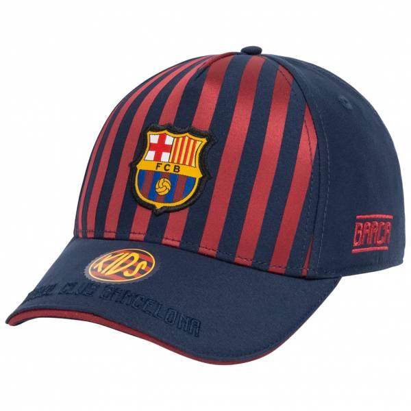 FC Barcelona Stripe Kinder Kappe FCB1G119P