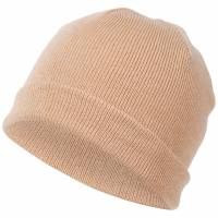 MSTRDS Pastel Cuff Knit Beanie 10263 Cappuccino