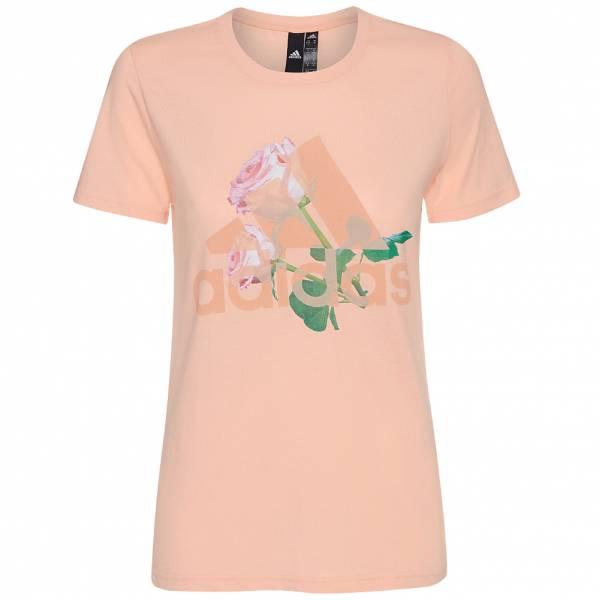 adidas Must Haves Flower Damen T-Shirt ED6161