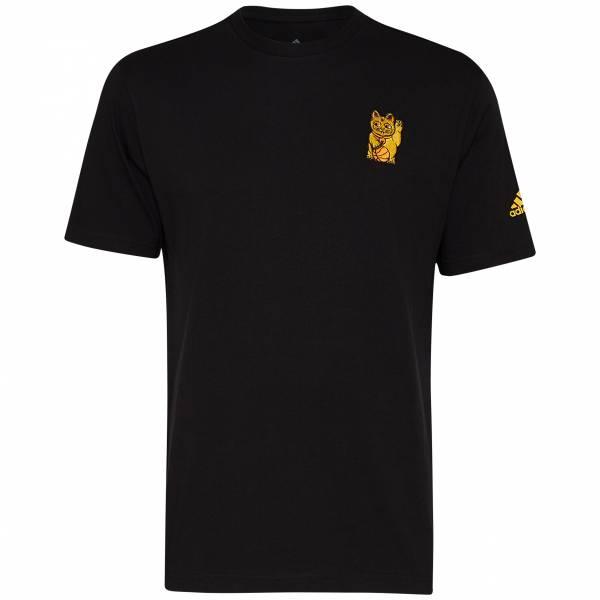 adidas Cat Emblem GFX Herren T-Shirt GE4703