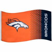 Broncos de Denver NFL Drapeau Fade Flag FLG53NFLFADEDB