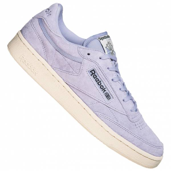 Herren Reebok Classics Club C 85 Pastels Sneaker V67595 violet|04056559774004