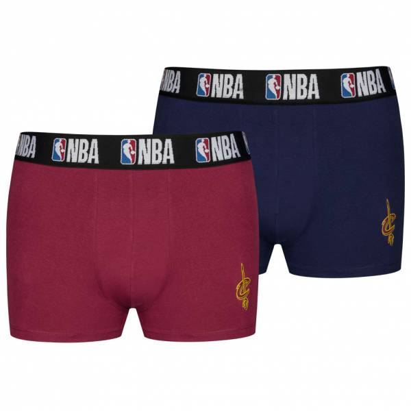 Cleveland Cavaliers NBA Herren 2er Pack Boxershorts 8003712-CAV