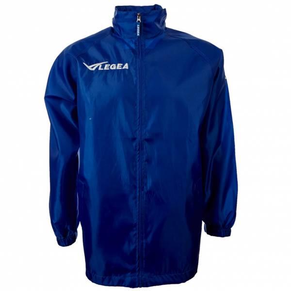 "Legea Regenjacke ""Italia"" Teamwear blau"