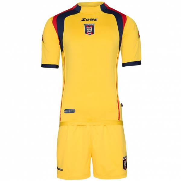FC Crotone Zeus Herren Kurzarm Trikot-Set