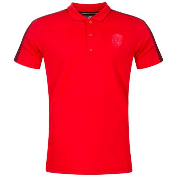 PUMA SF Ferrari Herren Polo-Shirt 572803-02