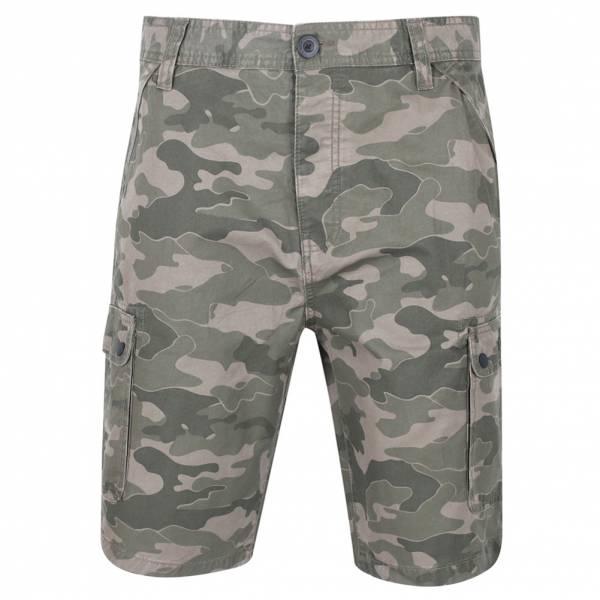 DNM Dissident Guayana Herren Cargo Shorts 1G10637 Tonal Khaki Camo