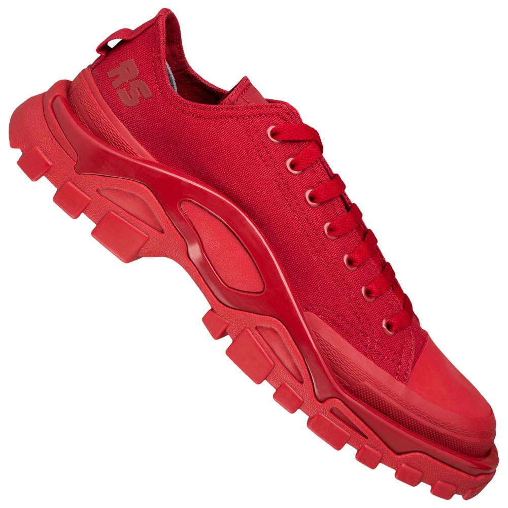 Adidas x Raf Simons Sneakers aus Leder Schwarz Größe 42