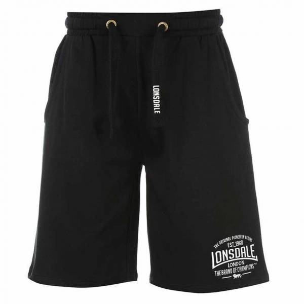 Lonsdale Herren Sweat Shorts 632244 Black